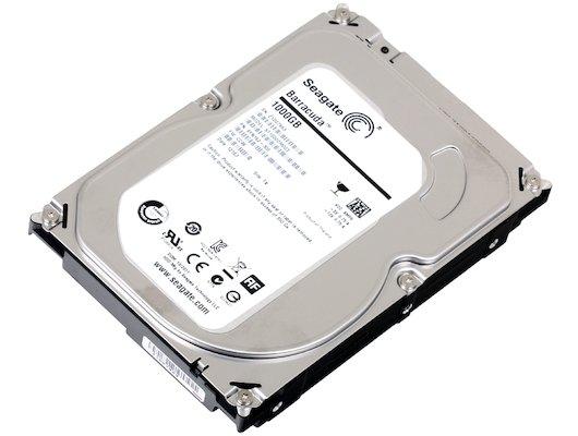 Жесткий диск Seagate SATA-III 1Tb ST1000DM003 Desktop (7200rpm) 64Mb 3.5