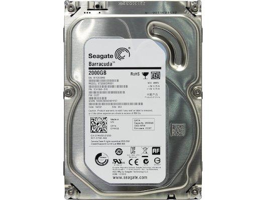 Жесткий диск Seagate SATA-III 2Tb ST2000DM001 Desktop (7200rpm) 64Mb 3.5