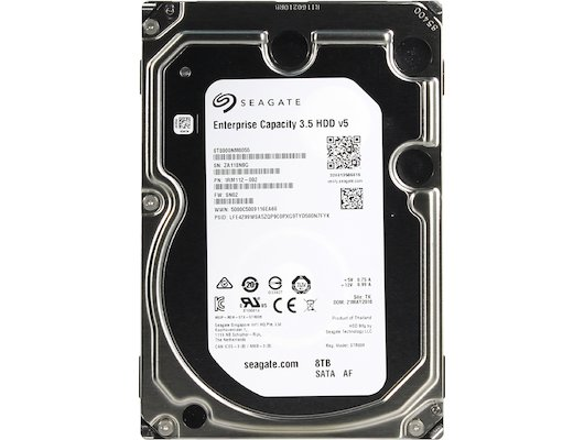 Жесткий диск Seagate SATA-III 8Tb ST8000NM0055 Enterprise Capacity (7200rpm) 256Mb 3.5