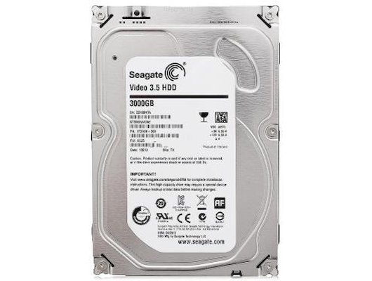 Жесткий диск Seagate SATA-III 3Tb ST3000VM002 Video (5900rpm) 64Mb 3.5