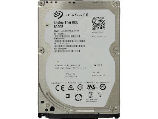 Жесткий диск Seagate SATA-III 500Gb ST500LM021 (7200rpm) 32Mb 2.5