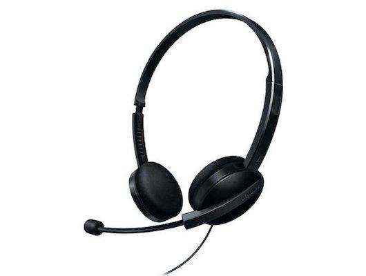 Наушники с микрофоном проводные PHILIPS SHM3560/10