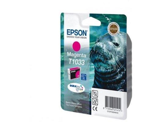 Картридж струйный Epson C13T10334A10 пурпурный