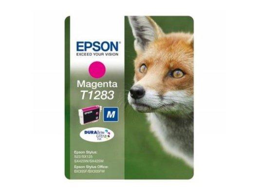 Картридж струйный Epson C13T12834021 картридж (Magenta для Stylus S22/SX130/SX230/SX420W/SX425W/BX305F security vers)