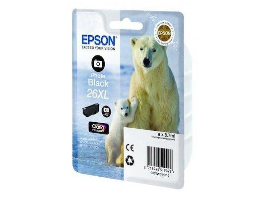 Картридж струйный Epson C13T26314010 black для Expression Premium XP-70 (400стр.)