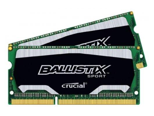 Оперативная память Crucial BLS2C4G3N169ES4CEU RTL PC3-12800 DDR3L 2x4Gb 1600MHz CL9 SO-DIMM