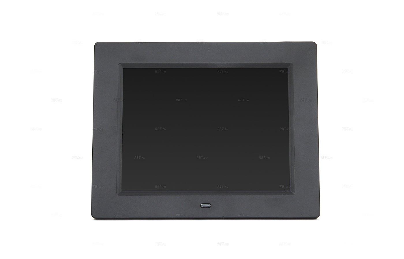 Цифровая фоторамка Digma 8 PF-833 1024x768 черный пластик ПДУ Видео
