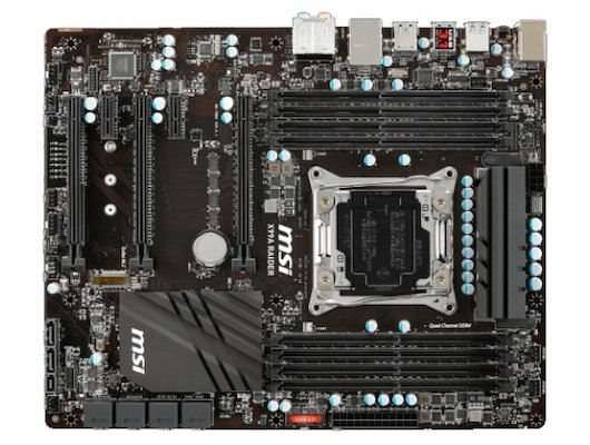 Материнская плата MSI X99A RAIDER Soc-2011v3 Intel X99 8xDDR4 ATX AC`97 8ch(7.1)
