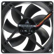Фото Охлаждение Glacialtech GT-9225 Ballbearing 90x90x25 3 pin + 4 pin (molex) 24dB 90g BULK для корпуса