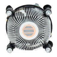 Фото Охлаждение Intel Original Copper Base Soc-1150/1155/1156/ 4pin 18-38dB Al+Cu 105W 240g клипсы OEM