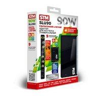 Фото Сетевой адаптер для ноутбука STM SLU90 90W USB 2.1A slim design