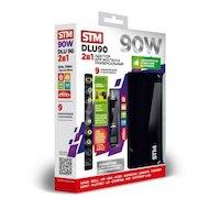 Фото Сетевой адаптер для ноутбука STM Dual DLU90