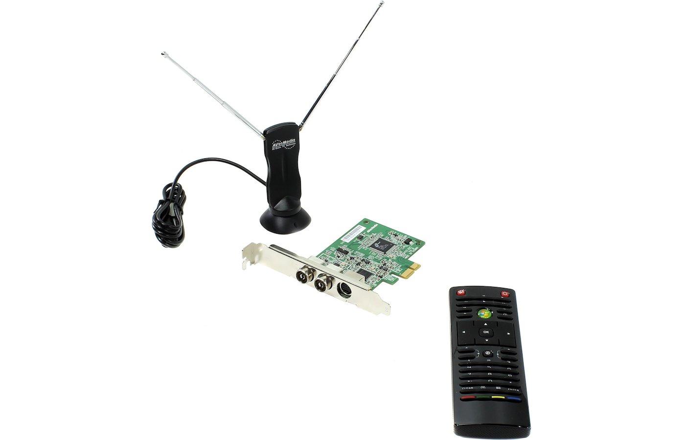 ТВ-тюнер Avermedia AVerTV Nova T2+C внутренний PCI-E PDU