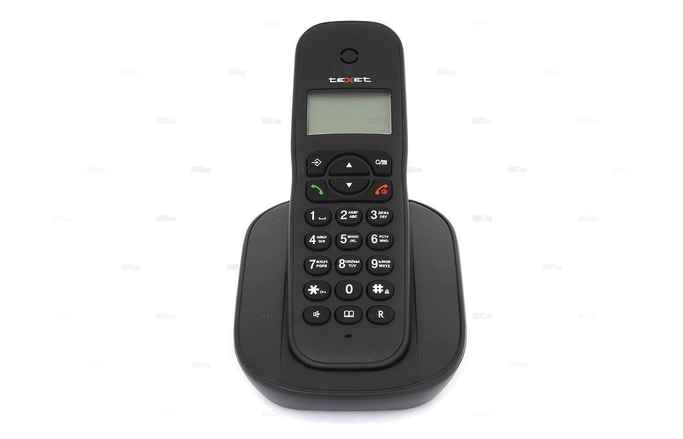 Радиотелефон TeXet TX-D4505A черный
