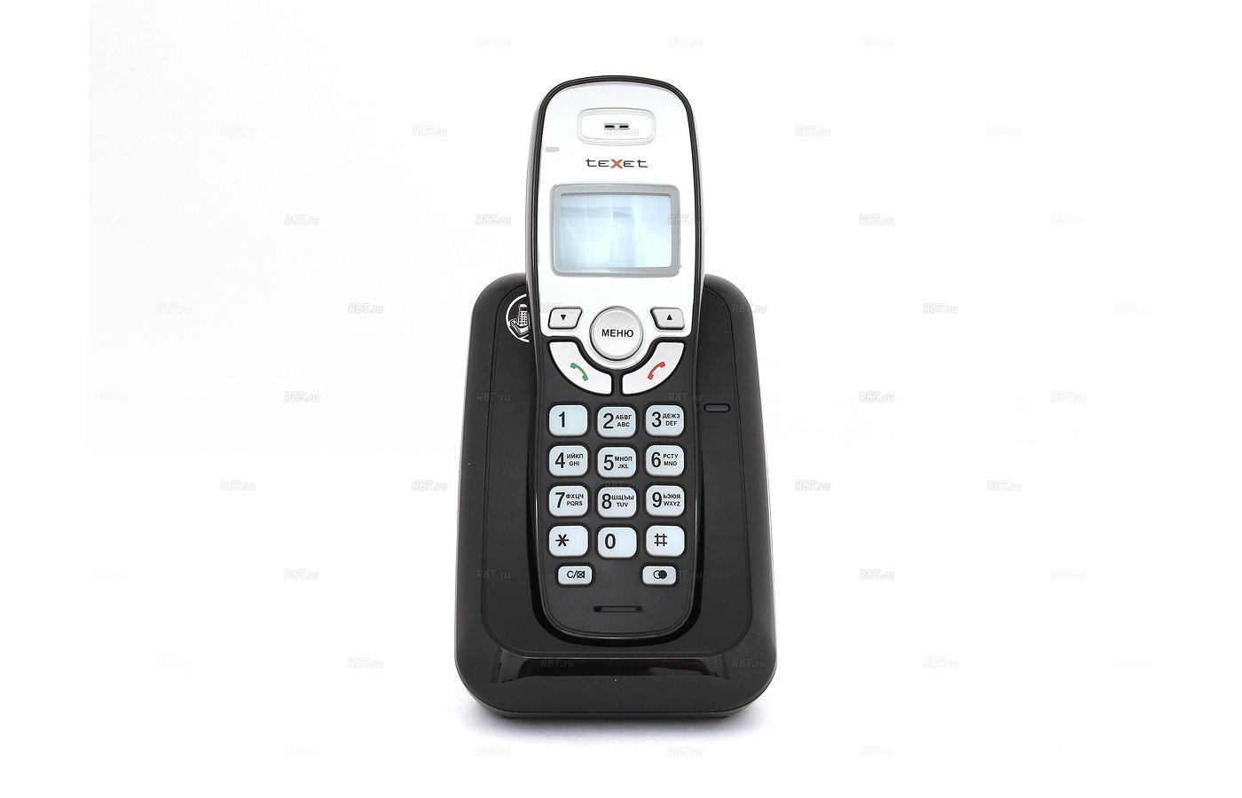 Радиотелефон TeXet TX-D6905A черный