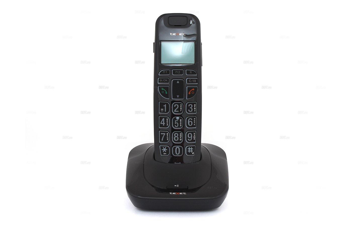 Радиотелефон TeXet TX-D7505A черный