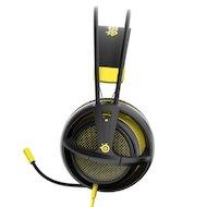 Фото Игровые наушники проводные Steelseries Siberia 200 Proton Yellow желтый/черный (1.8м) мониторы (оголовье)