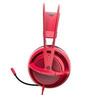 Фото Игровые наушники проводные Steelseries Siberia 200 Forged Red красный (1.8м) мониторы (оголовье)