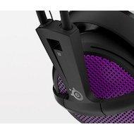 Фото Игровые наушники проводные Steelseries Siberia 200 Sakura Purple пурпурный/черный (1.8м) мониторы (оголовье)