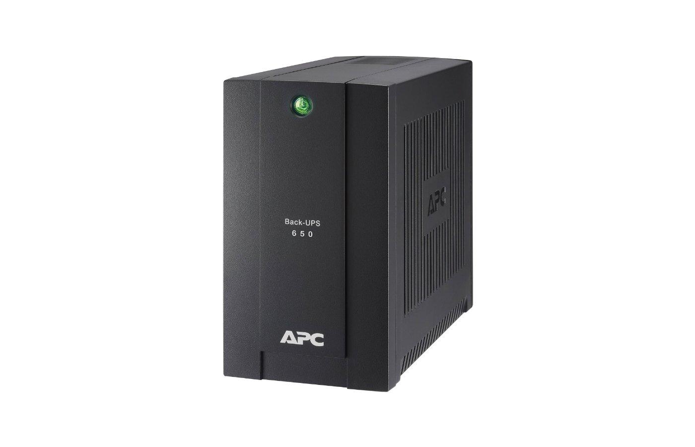 Блок питания APC Back-UPS BC650-RSX761 360Вт 650ВА черный