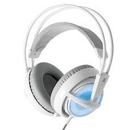 Игровые наушники проводные Steelseries Siberia v2 Frost (51125 ) белый/голубой