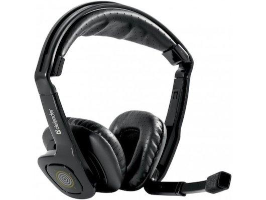 Игровые наушники проводные Defender Warhead HN-G150 черный 2.3м
