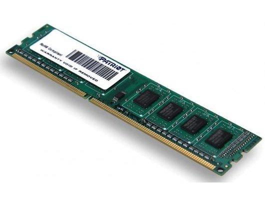 Оперативная память Patriot PSD34G16002 RTL PC3-12800 DDR3 4Gb 1600MHz CL11