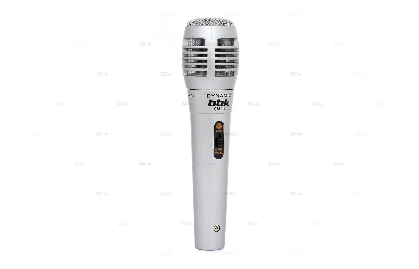 Микрофон BBK CM114 2.5м.