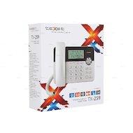Фото Проводной телефон TeXet TX-259 черный/серебристый