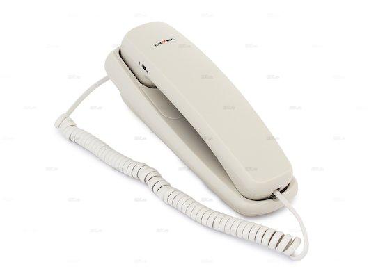 Проводной телефон TeXet TX-219 светло-серый