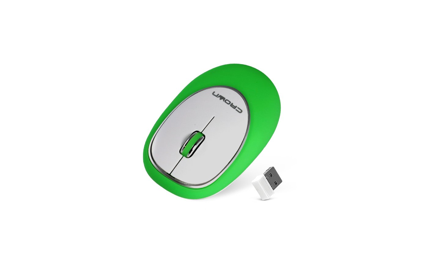 Мышь проводная CROWN CMM-931W green