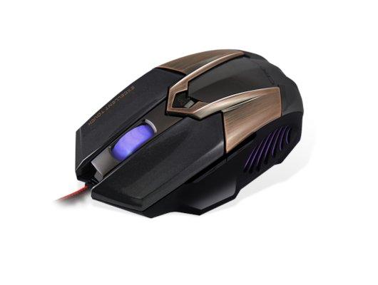 Мышь проводная CROWN Gaming CMXG-606 (brown)