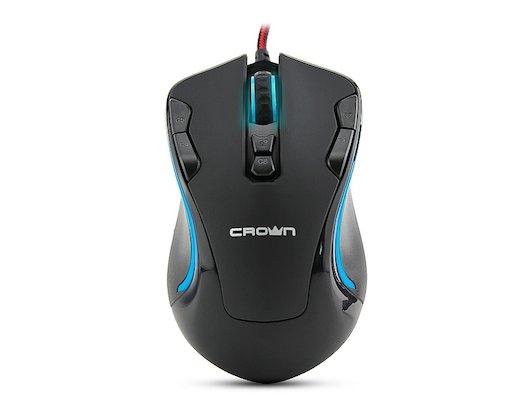 Мышь проводная CROWN Gaming CMXG-804 (9 button)