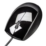 Мышь проводная Hama H-52378 M360 черный оптическая (800dpi) USB (2but)