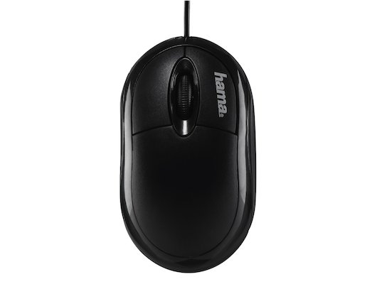 Мышь проводная Hama AM-8300 черный