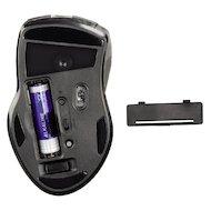 Фото Мышь беспроводная Hama H-53879 Roma черный лазерная (1600dpi) беспроводная USB (6but)