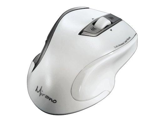 Мышь беспроводная Hama H-53878 белый лазерная (1600dpi) беспроводная USB