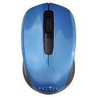 Фото Мышь беспроводная Oklick 475MW черный/синий