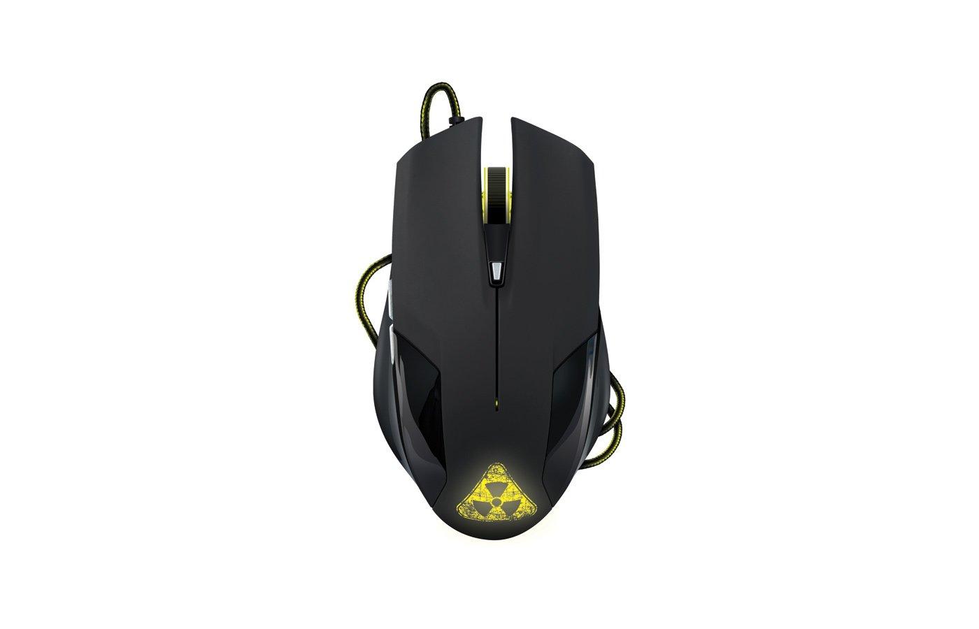 Мышь проводная Oklick 765G Symbiont USB black