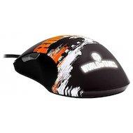 Фото Мышь проводная Steelseries Sensei Raw World Of Tanks Мышь+коврик черный/серый/оранжевый