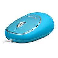 Мышь проводная SVEN RX-555 Antistress Silent синяя