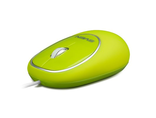 Мышь проводная SVEN RX-555 Antistress Silent зеленая
