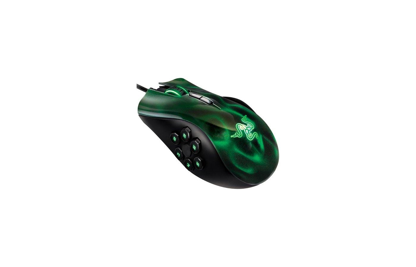 Мышь проводная RAZER Naga Hex (RZ01-00750100-R3M1)