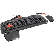Клавиатура + мышь A4Tech Bloody Q2100/B2100 черный USB Multimedia Gamer