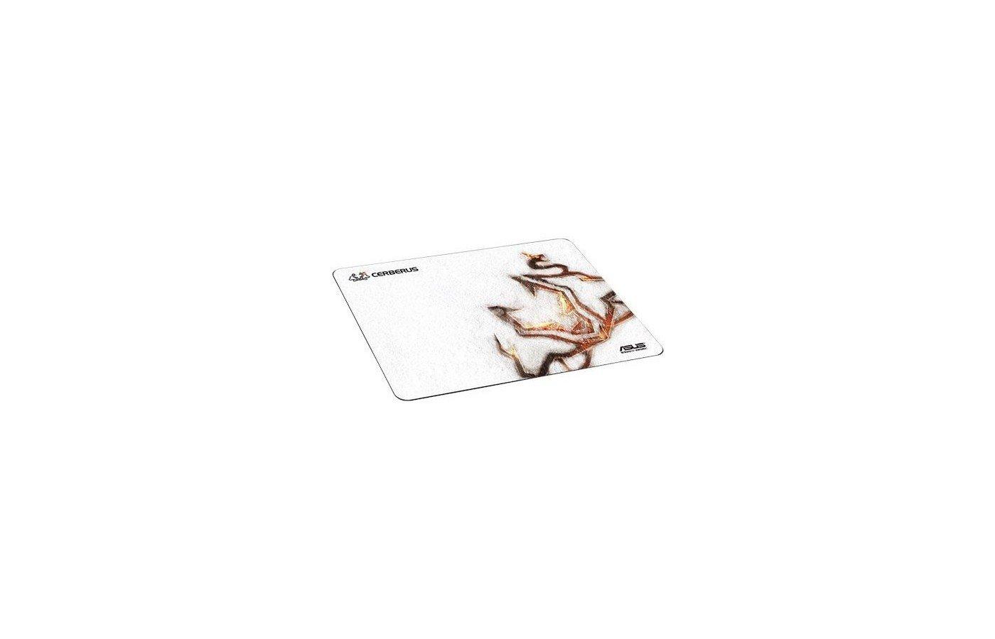 Коврик для мыши Asus Cerberus белый/рисунок