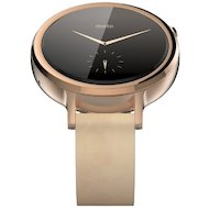 Смарт-часы Motorola Moto 360S v2 42mm Female (leather) gold (SM4347AS6T1)