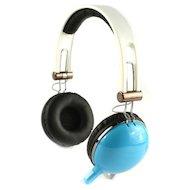 Наушники с микрофоном проводные COSONIC CD668MV Blue
