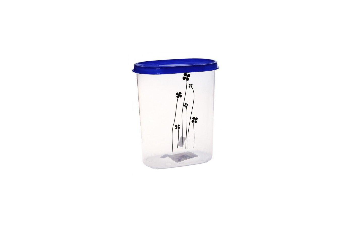контейнеры для продуктов Plastic Centre ПЦ3312 Банка для сыпучих продуктов Galaxy 2.4л