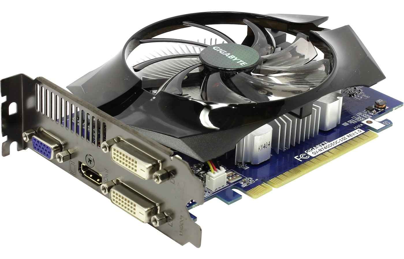 Видеокарта Gigabyte GV-N740D5OC-1GI GT740 1024Mb DDR5 RTL