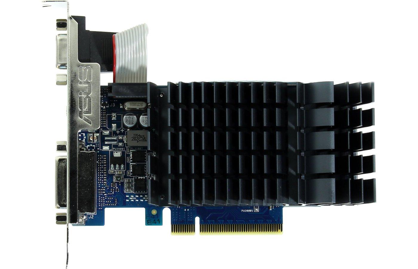 Видеокарта Asus PCI-E GT 710-1-SL nVidia GeForce GT 710 1024Mb 64bit Ret low profile